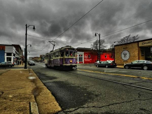 Photograph - Memphis - Main Street Trolley 001 by Lance Vaughn