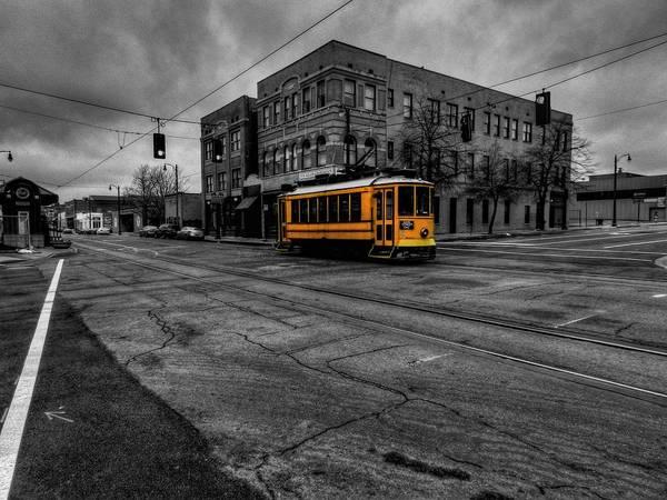 Photograph - Memphis - Main Street Trolley 002 by Lance Vaughn