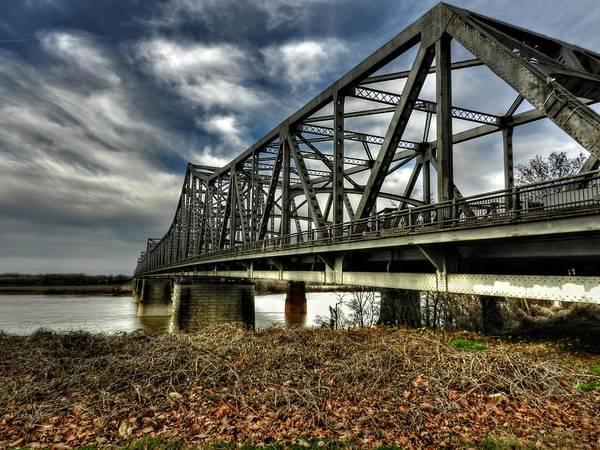 Wall Art - Photograph - Memphis - Memphis And Arkansas Bridge 001 by Lance Vaughn