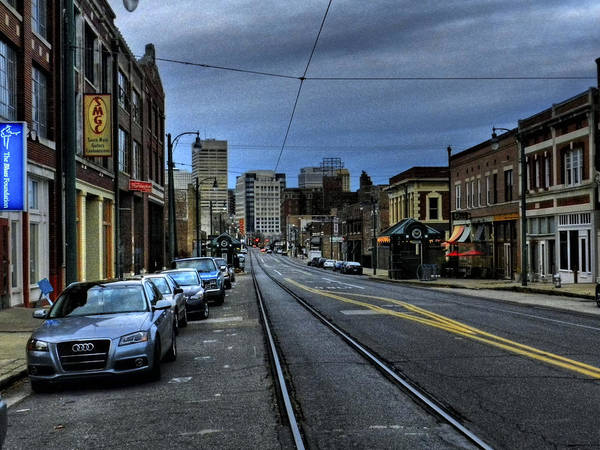 Photograph - Memphis - South Main 003 by Lance Vaughn