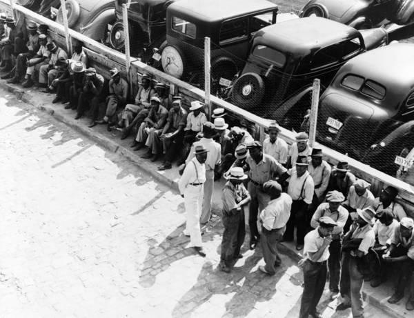 Photograph - Memphis Unemployed, 1938 by Granger