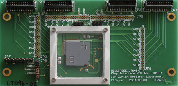 Microelectromechanical Systems Wall Art - Photograph - Mems Data Storage by Ibm Research