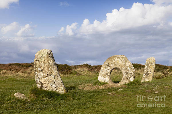 Moorland Photograph - Men-an-tol Cornwall by Colin and Linda McKie