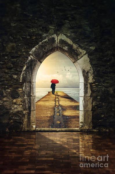 Portals Wall Art - Photograph - Men In Pier by Carlos Caetano