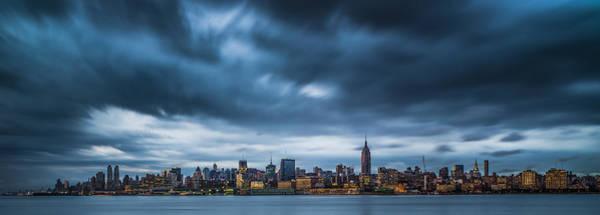 Wall Art - Photograph - Menacing Sky Over Manhattan by Chris Halford