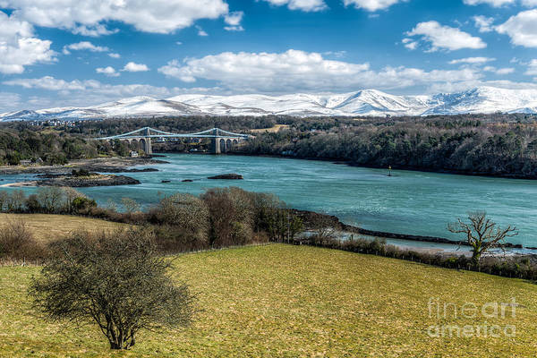 Wall Art - Photograph - Menai Bridge 1819 by Adrian Evans