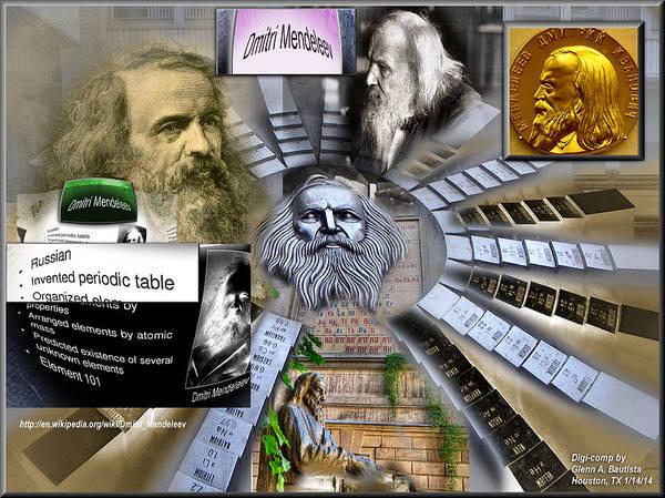 Digital Art - Mendeleevcomp '14  by Glenn  Bautista