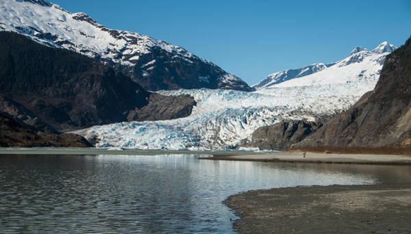 Mendenhall Glacier In Alaska Art Print