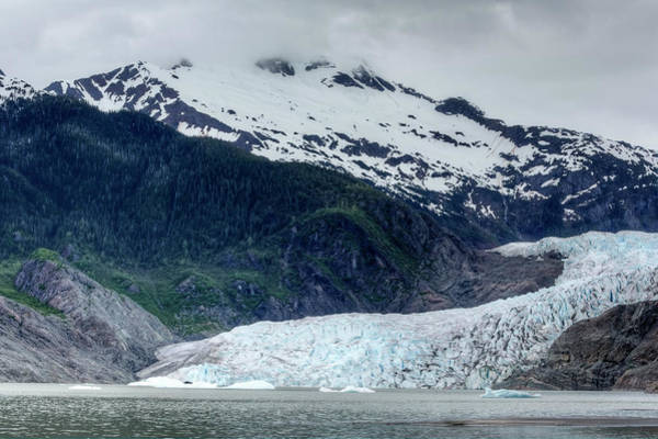 Juneau Photograph - Mendenhall Glacier, Juneau, Alaska,usa by Richard Cummins