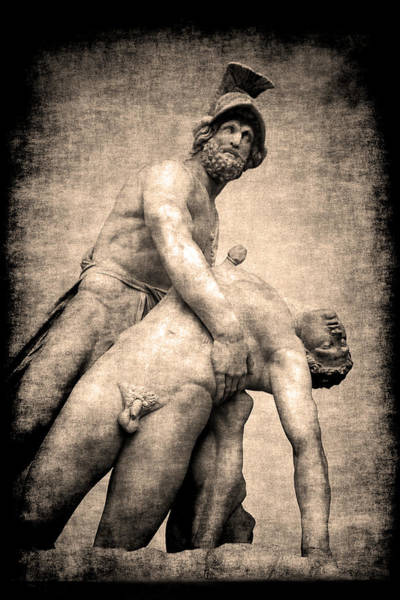 Photograph - Menelaus And Patroclus In Florence by Jennifer Wright