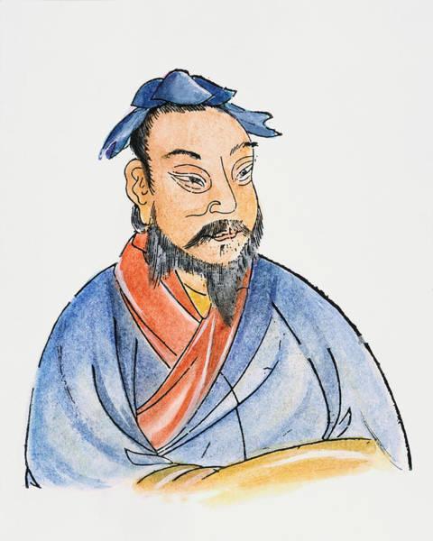 Wall Art - Drawing - Meng-tzu (c371-c289 B by Granger