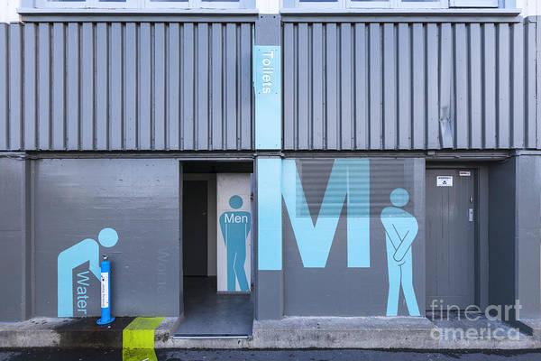 Wellington Photograph - Mens Public Toilet Wellington Nz by Colin and Linda McKie