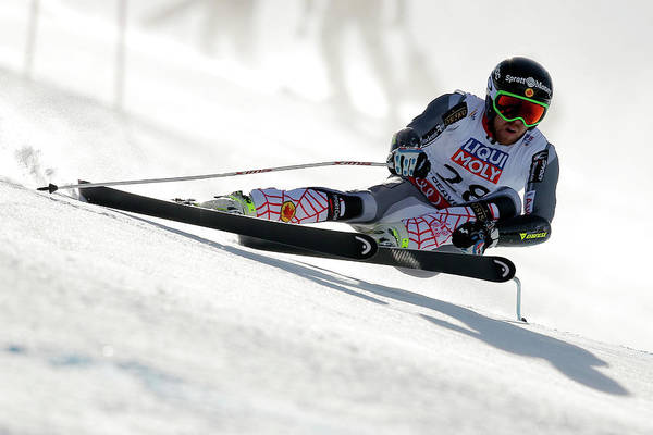 Alpine Skiing Photograph - Mens Super-g by Doug Pensinger