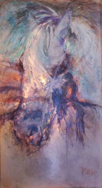 Eclipse Mixed Media - Mentor by Patty Kingsley
