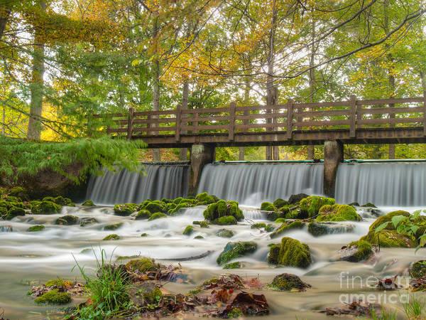 Shannon Falls Wall Art - Photograph - Meramec Spring Waterfall by Shannon Beck-Coatney