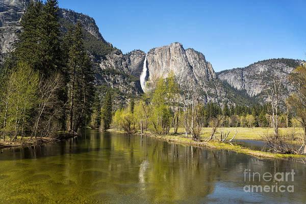 Wall Art - Photograph - Merced River And Yosemite Falls by Jane Rix