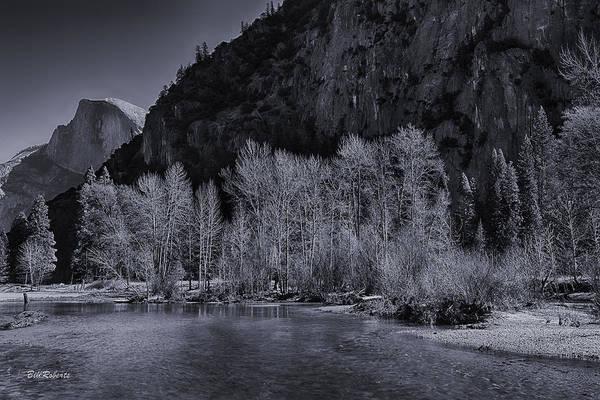 Merced River Photograph - Merced River Scene by Bill Roberts