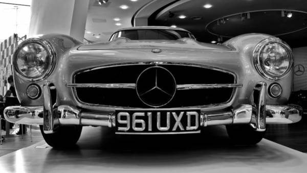 Photograph - Mercedes Benz 300sl by Stephen Taylor