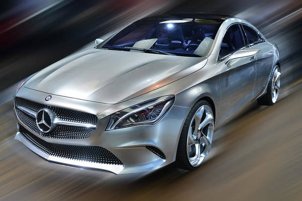 Photograph - Mercedes Benz Concept Style 2013 Coupe by Dragan Kudjerski