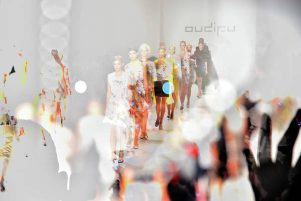 Photograph - Mercedes-benz Fashion Week Spring 2015 by Andrew H. Walker