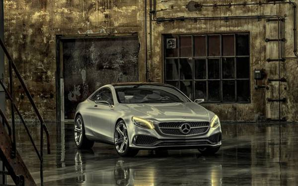 Photograph - Mercedes Benz S Class Coupe 2013 by Movie Poster Prints