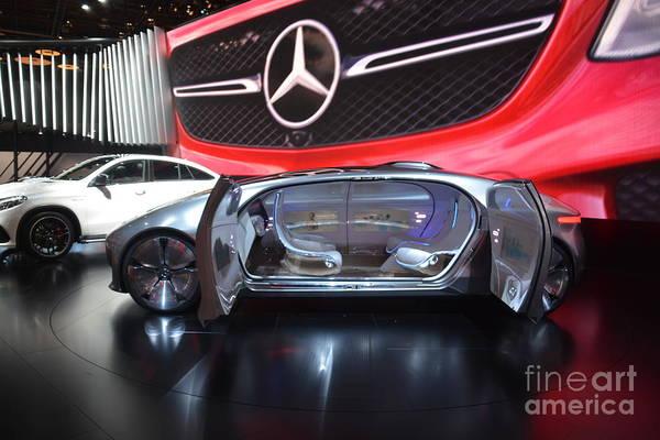 Photograph - Mercedes F015 by Randy J Heath