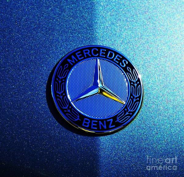 Wall Art - Photograph - Light And Shade On A Mercedes Benz by Marcus Dagan