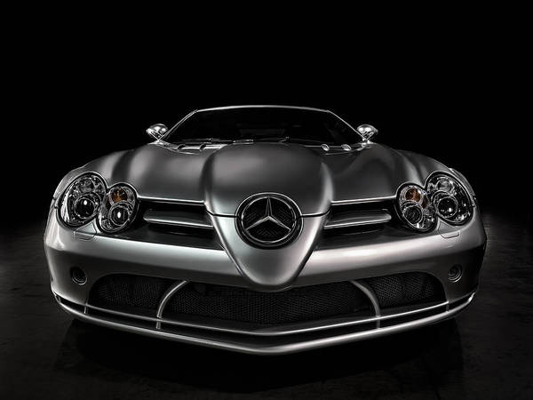Wall Art - Digital Art - Mercedes Mclaren Slr by Douglas Pittman