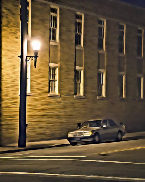 Digital Art - Mercedes by Patrick M Lynch
