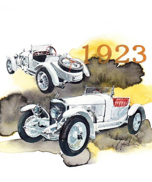 Mercedes Painting - Mercedes Sport 2 Seater 10-40hp by Yoshiharu Miyakawa