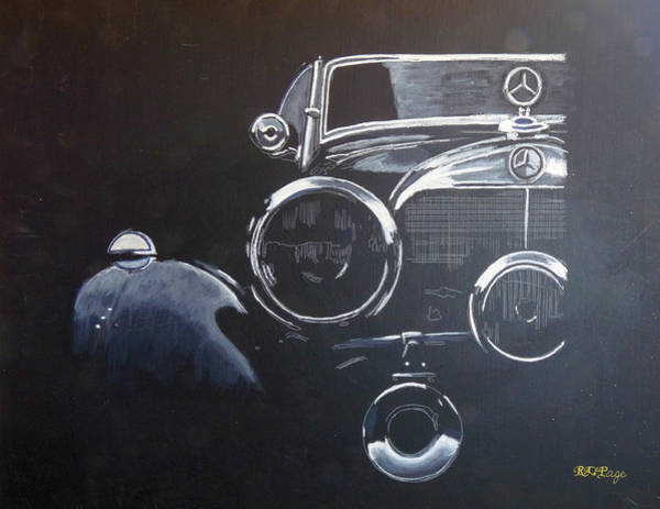 Painting - Mercedes Ssk by Richard Le Page