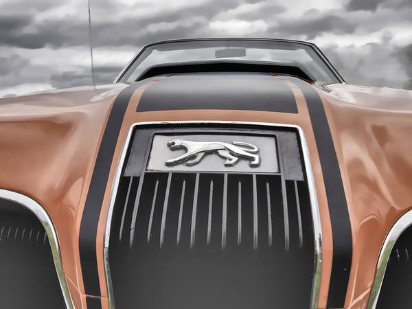 Photograph - Mercury Cougar by Thomas Young