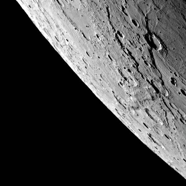 Flyby Photograph - Mercury by Nasa/johns Hopkins University Applied Physics Laboratory/carnegie Institution Of Washington/science Photo Library