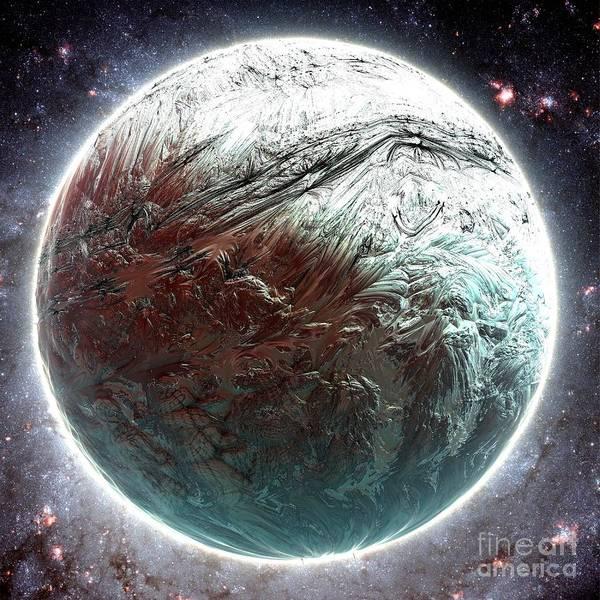 Mercury Planet Art Print by Bernard MICHEL