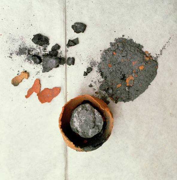 Medicinal Photograph - Mercury Remedy by Mark De Fraeye/science Photo Library