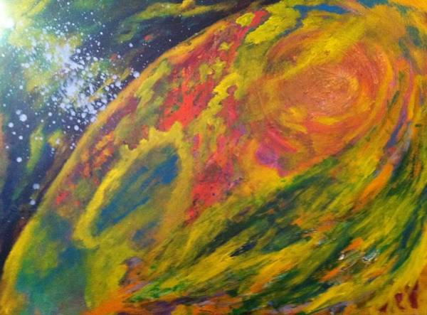 Painting - Mercury Retrograde by Bebe Brookman