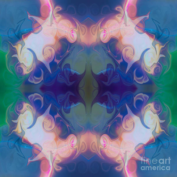 Painting - Merging Fantasies Abstract Pattern Artwork By Omaste Witkowski by Omaste Witkowski