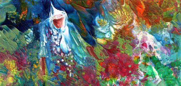 Painting - Merlins Magic World by Miki De Goodaboom