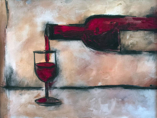 Painting - Merlot by Sean Parnell