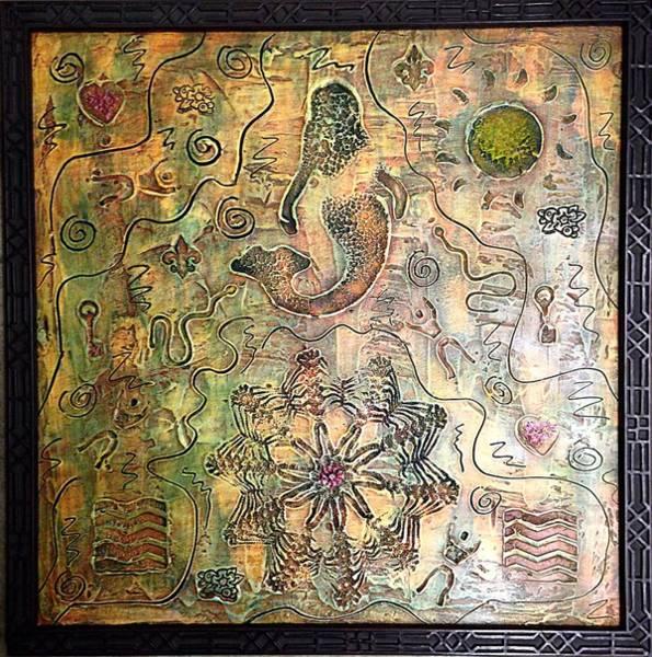 Painting - Mermaid Goddess By Alfredo Garcia by Alfredo Garcia