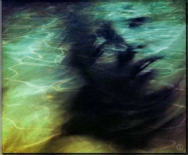 Wall Art - Digital Art - Mermaid Longing by Gun Legler