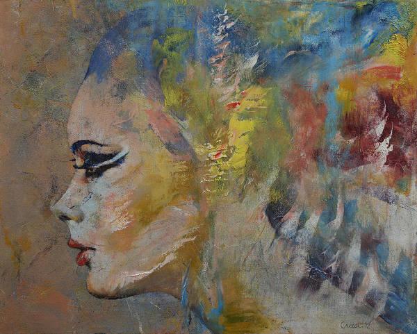 Mermaid Painting - Mermaid by Michael Creese