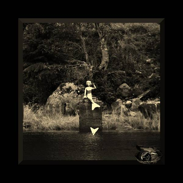 Photograph - Mermaid Splash Down by Barbara St Jean