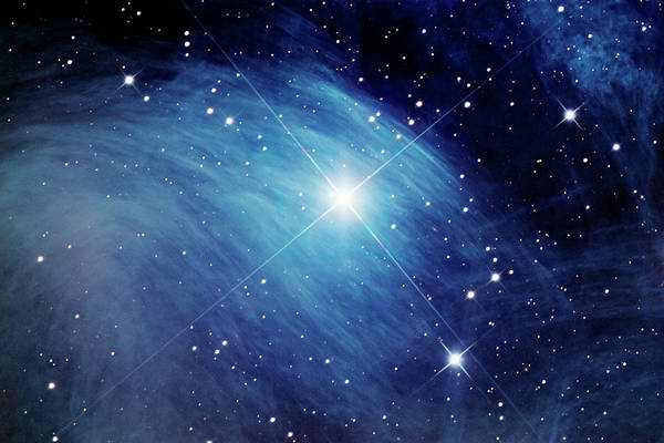 Merope Star And Nebulosity Art Print