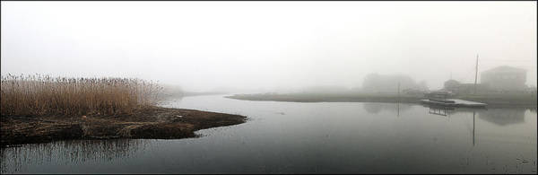 Photograph - Merrimack River In The Fog by Rick Mosher