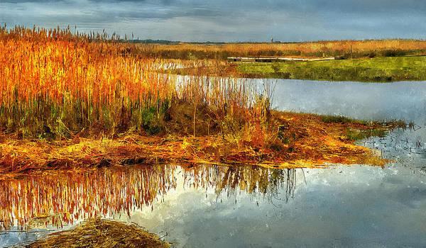 Painting - Merrimack River by Rick Mosher