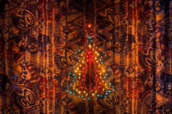Photograph - Merry Abstract Christmas by Tgchan