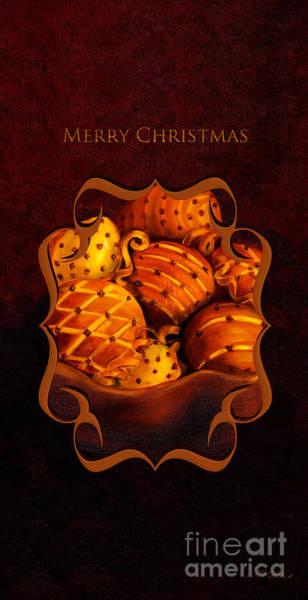 Wall Art - Photograph - Merry Christmas Citrus Bowl Iphone Case by Iris Richardson
