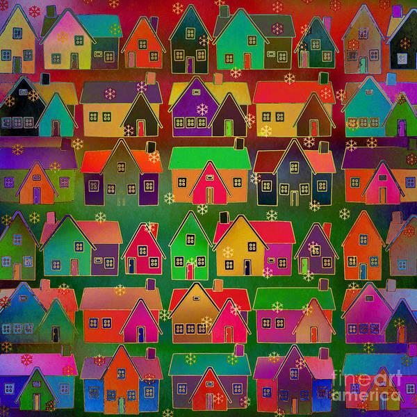 Fabulous Digital Art - Merry Christmas by Klara Acel