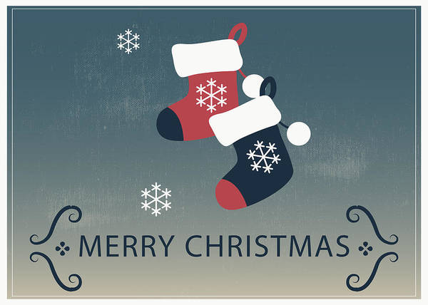 Painting - Merry Christmas Stocking Stuffers by Florian Rodarte